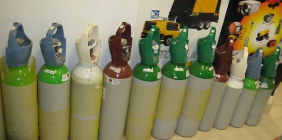 Bouteilles de gaz Linde