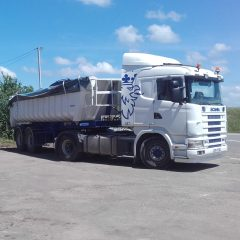 Tracteur + benne